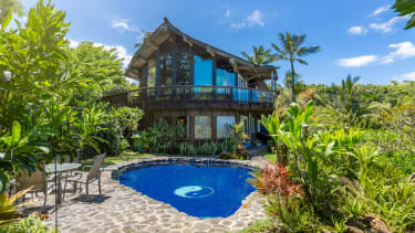 A home in Hawaii.
