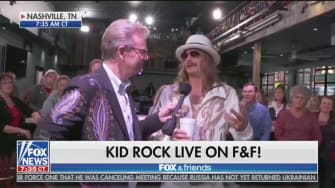 Kid Rock on Fox and Friends.