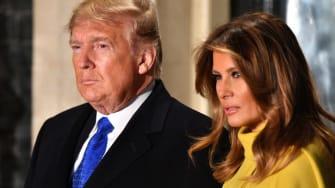 Donald and Melania Trump.