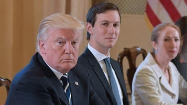 Donald Trump and Jared Kushner.