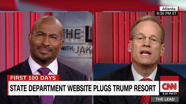 Jack Kingston blames a Trump flub on Obama