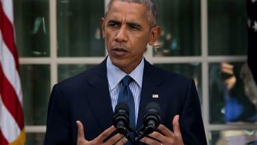 Former President Obama.