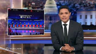 Trevor Noah recaps Democratic debate