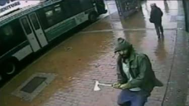 NYPD cops fatally shoot ax-wielding attacker