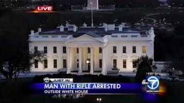 Iowa man arrested outside White House after rifle, ammo found in car