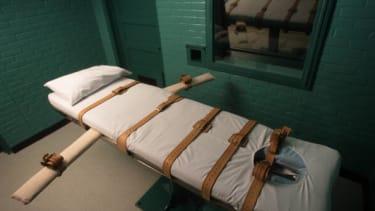 A Texas execution chamber.