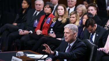 Supreme Court nominee Neil Gorsuch.