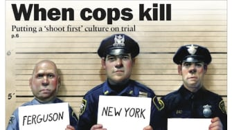 Police brutality covers this week's issue of The Week magazine