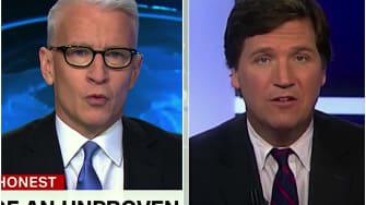 Anderson Cooper and Tucker Carlson talk Trump, wiretapping
