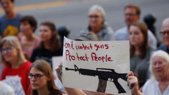 Protesters call for stricter gun laws