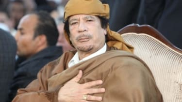 Libyans brace for a future of chaos, with or without their defiant leader Moammar Gadhafi.