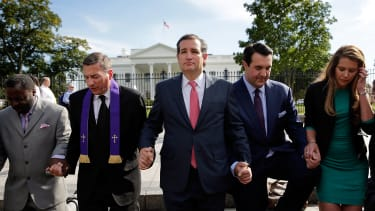 The fight for the Evangelical Christian vote has begun.