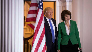 Cathy McMorris Rodgers and Donald Trump.