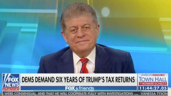 Napolitano on Trump.