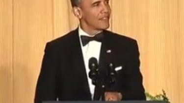 Obama mocks his 'stellar 2013' at White House Correspondents' Dinner
