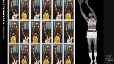 U.S. Postal Service to honor Wilt Chamberlain with a special, taller stamp