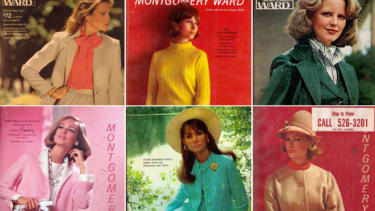 Vintage Montgomery Ward catalogs