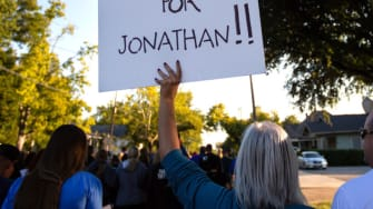 Protest following shooting of Jonathan Price.