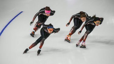 Winter Olympic athletes from China.