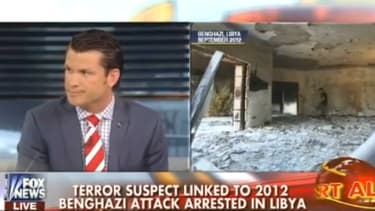 Fox News questions 'convenient' timing of Benghazi suspect's capture