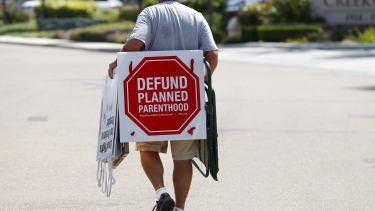 Anti-abortion protest.