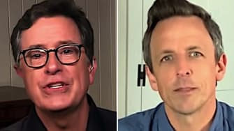 Late night hosts on Trump's missed chances