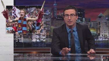 John Oliver thinks he's finally found a way to get Americans excited about the World Cup