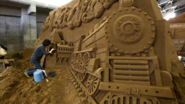 Feast your eyes on 3 incredibly detailed sand sculptures you'd never be able to make