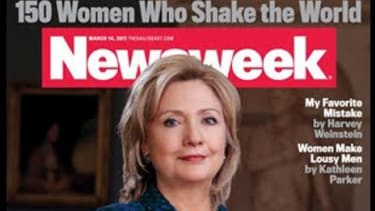Tina Brown busts out big bylines, glossier photos and noticeably more ad pages in her debut Newsweek issue.