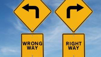 The wrong way vs. The right way
