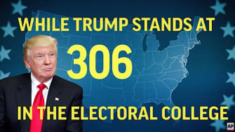 The Electoral College meets on Monday