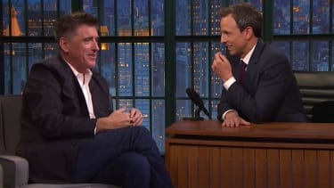 Craig Ferguson used to drop acid with bandmate Peter Capaldi, the new Doctor Who