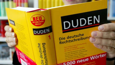German dictionary Duden in Mannheim