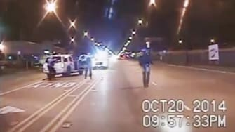 Dashcam footage from the Oct. 20, 2014 police shooting of Laquan McDonald