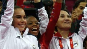 Former U.S. Gymnastics coach John Geddert.