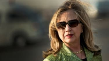 Secretary of State Hillary Clinton prepares to leave Egypt on July 15, after a weekend visit in which she was met with protests that could point to Egyptian suspicion of American meddling.