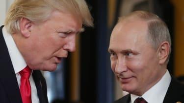 President Trump and Vladimir Putin speak