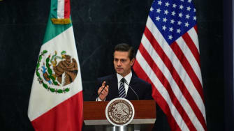 Pena Nieto: We are not paying for the Trump wall.