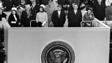 The inauguration of President John F. Kennedy on Jan.  20, 1961.