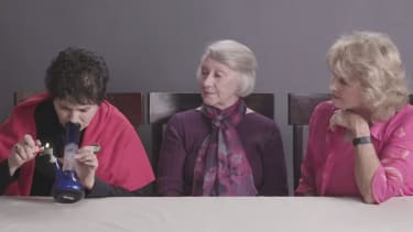 3 adorable grandmas try marijuana for the very first time — on camera
