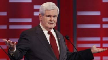 GOP presidential hopeful Newt Gingrich didn't just survive his rivals' attacks during Saturday's big Iowa debate. He thrived, political watchers say.
