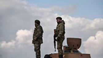 Turkish-backed fighters in Syria