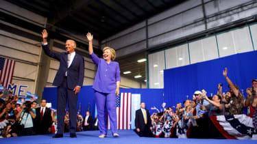 Joe Biden and Hillary Clinton.