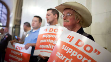 Even 61 percent of young Republicans support same-sex marriage