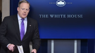 Sean Spicer is only moonlighting as communications director