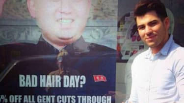 London barbershop reportedly targeted by North Korean officials over 'disrespectful' Kim Jong-un sign