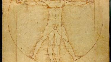 Leonardo da Vinci's 'Vitruvian Man.'