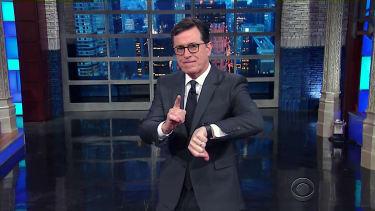 Stephen Colbert has a question about Donald Trump's Julian Assange tweets