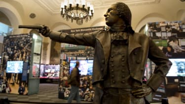 Alexander Hamilton duel.