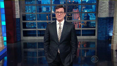 Stephen Colbert mocks Donald Trump holiday tweeting